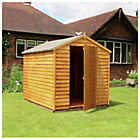 more details on Mercia Overlap Apex Wooden Garden Shed - 8 x 6ft.