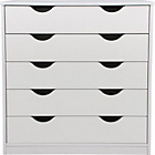 more details on Pagnell 5 Drawer Chest - White.