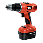 more details on Black & Decker EPC148BK Cordless Hammer Drill - 14.4 V.