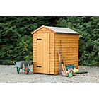 more details on Forest Garden Overlap Shed - 4 x 6ft.