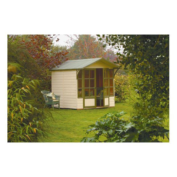 buy eaton garden wooden summerhouse at your. Black Bedroom Furniture Sets. Home Design Ideas