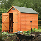 more details on Rowlinson Wooden Security Garden Shed - 8 x 6ft.