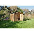 more details on Forest Garden Bradnor Wooden Log Cabin.