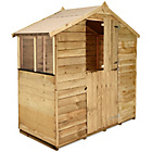 more details on BillyOh Pressure Treated Overlap Apex Shed - 3 x 6ft.