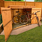 more details on BillyOh Tongue and Groove Pent Bike/Mower Store 3 x 6ft.