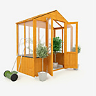more details on BillyOh Wooden Polycarb Greenhouse - 3 x 6ft.