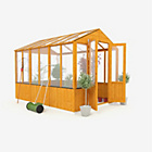 more details on BillyOh Wooden Polycarb Greenhouse - 9 x 6ft.
