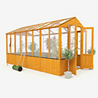 more details on BillyOh Wooden Polycarb Greenhouse - 12 x 6ft.