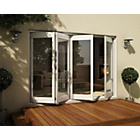 more details on Jeld-Wen White Timber Folding Patio Door Set 2105 x 3005.