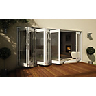 more details on Jeld-Wen White Timber Folding Patio Door Set 2105 x 4205mm.