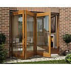 more details on Jeld-Wen Oak Veneer Folding Patio Door Set 2105 x 1805mm.