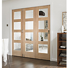 more details on Jeld-Wen Interior Oak Veneer Divider Oak Frame 2044x3164mm.