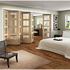 more details on Jeld-Wen Interior Oak Veneer Divider Oak Frame 2044x3779mm.