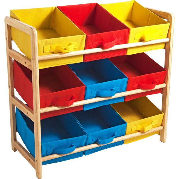 Buy 3 Tier Toy Basket Storage Unit At Your