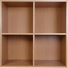 more details on Phoenix 2 x 2 Cube Storage Unit - Beech Effect.