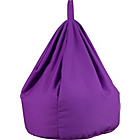 more details on ColourMatch Large Cotton Beanbag - True Purple.