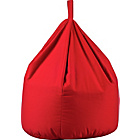 more details on ColourMatch Large Cotton Beanbag - Poppy Red.
