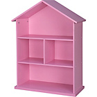 more details on Mia Dolls House Bookcase - Pink.