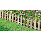 more details on Picket Fence Edging - Pack of 2.