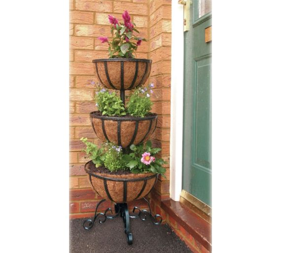 buy 3 tier flower fountain at your online. Black Bedroom Furniture Sets. Home Design Ideas