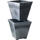 more details on Milano Square Planter - Pack of 2.