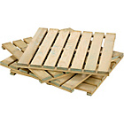 more details on Decking Tiles - Pack of 4.