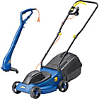 more details on Challenge Xtreme Rotary Lawnmower 1000W and Grass Trimmer.