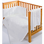 more details on Clair de Lune Stardust 5 Piece Cot/Cot Bed Bedding Bale.