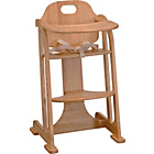 more details on East Coast Multiheight Baby Highchair - Antique.