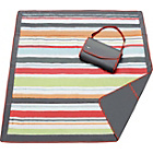 more details on JJ Cole 5x5 Foot Travel/Picnic Mat - Grey and Red.