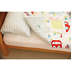 more details on Gro To Bed Cot Bed Bedding Set - All Aboard.