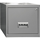 more details on Pierre Henry 1 Drawer Filing Cabinet - Silver.
