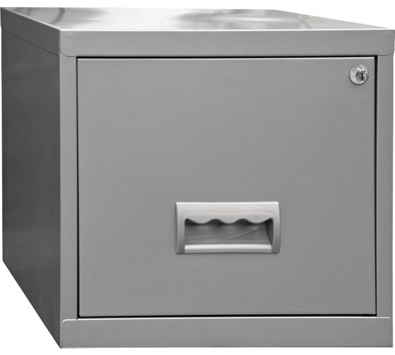 Buy Pierre Henry 1 Drawer Filing Cabinet Silver At Argos