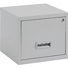 more details on Pierre Henry 1 Drawer Filing Cabinet - Grey.