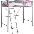 more details on Metal High Sleeper Bed Frame with Bibby Mattress.