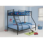 more details on Black Metal Triple Bunk Bed Frame with Bibby Mattress.