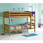 more details on Detachable Antique Pine Bunk Bed with Bibby Mattress.