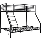 more details on Metal Triple Bunk Bed Frame - Black.