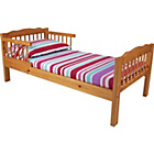 more details on Antique Pine Toddler Bed Frame - Natural.