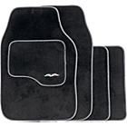 more details on Set of 4 Luxury Carpet Car Mats - Black.