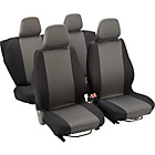 more details on Simple Value Full Set of Seat Covers - Black.