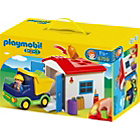 more details on Playmobil 123 6759 Truck with Garage.