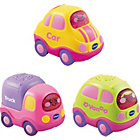 more details on VTech Baby Toot-Toot Drivers 3 Car Pack -Pink.
