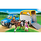 more details on Playmobil 5223 SUV with Horse Trailer.