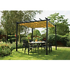 more details on Rowlinson Latina Aluminium Frame Canopy - 9 x 9ft.