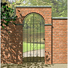 more details on Metpost Ludlow Scroll Tall Steel Gate - 77x180cm.