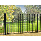 more details on Metpost Wenlock Ball Top Steel Fence.