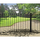 more details on Metpost Montford Spear Top Steel Fence.