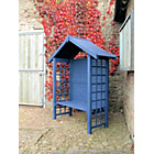 more details on Grange Fencing Arezzo Arbour - Blue.