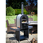 more details on La Hacienda Large Black Steel & Stainless Steel Pizza Oven.